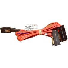 Кабель HP 519743-001 Mini SAS SFF-8087 на 4 SFF-8482
