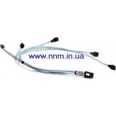 Кабель SUPERMICRO CBL-0188L miniSAS  to 4-SATA iPASS